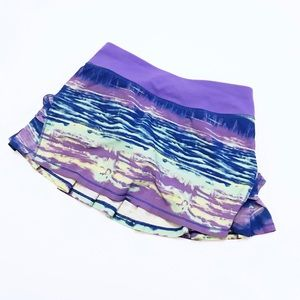 Ivivva Set The Pace Tie Dye Pleated Skirt